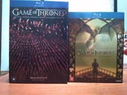 Série Game of Thrones, 5 temporadas originais em Blu-ray