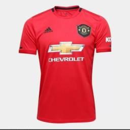 Camisa manchester united e juventus