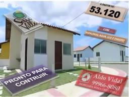 ARV 64. Lote na Avenida, 250 m² com entrada 2.657, financiamento Direto
