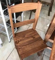 Conjunto mesa Kasper 6 cadeiras $999,00