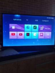 Vendo TV smart Philco 50 led completa com todos os aplicativos Netflix YouTube