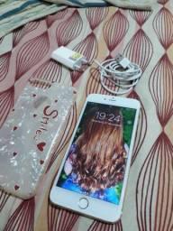 iPhone 6s Plus branco/dourado