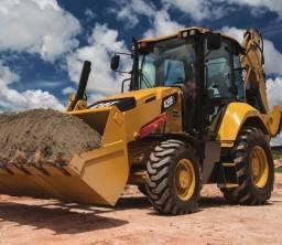 Máquinas pesadas para construção (Entrada+Parcelas)
