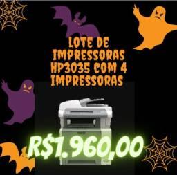 Impressoras HP multifuncional 3035 seminova