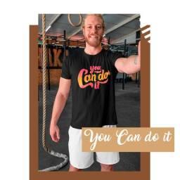 Camiseta unissex You Can Do It - John Way