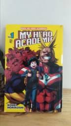 Mangá My hero academia volume 1 em bom estado