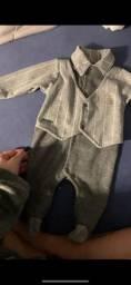 Roupinhas de bebê menino rn a 3  meses