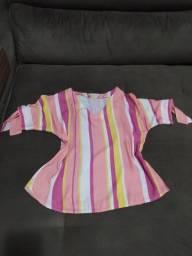 Blusa colorida Tamanho M
