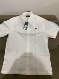 Camisa original da Fred Perry, tamanho G