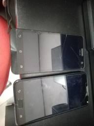 Celulares Asus ZenFone 5 e ZenFone 4 Max