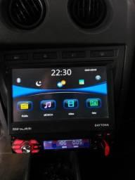 Dvd Retrátil mp5 Shutt Bluetooth