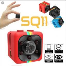 Mini Câmera Visão Noturna, Sensor de Movimento, completa, Lei-a -a- Des-cri-ção