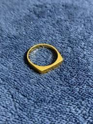 Anel de ouro 18k/750 - 5,3g