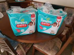 Fralda Pampers Pants xxg