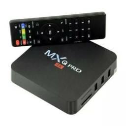 Conversor Smart Android 10 MXQ Pro 4k - 4gb / 64gb