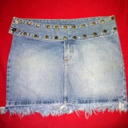 ( Tam. 40 ) saia jeans novíssimaa