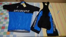 Roupa De Ciclismo Specialized,Fibra De Carbono,Novo,azul/Lançamentíssimo