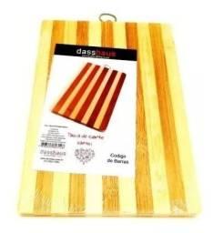 Tábua De Corte 100% Bambu Natural Grossa x 12x R$ 6,99 x Entrega Grátis x Garantia 3 m