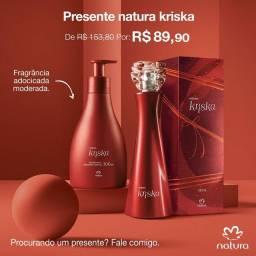 Kit Kriska com Perfume e Hidratante