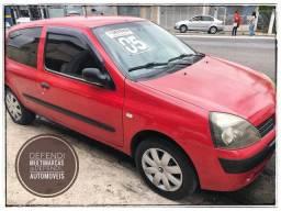 Clio 1.0 2p! 2005! mais barato do brasil!