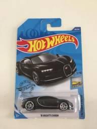 Hot wheels 2020 Bugatti Chiron preto