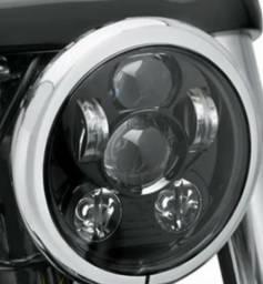 Vendo Farol de LED para Harley Davidson - Usado poucas vezes, pois logo vendi a moto!! comprar usado  Criciúma