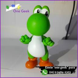 Action Figure Yoshi - Jogo do Mario