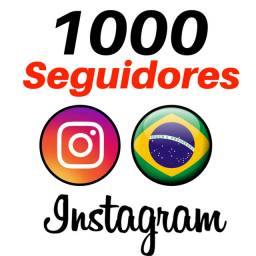 Kit 1000 Seguidores Instagram