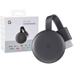 Chromecast 3! transforme sua Tv em Smart!! Netflix,Amazon,Youtube.