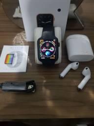 Smart Watch Iwo12 Lite Pro W26 + fone de brinde