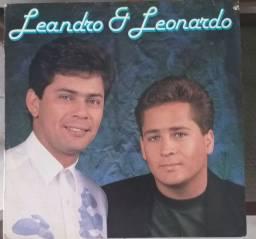 Lp vinil Leandro e Leonardo 1991
