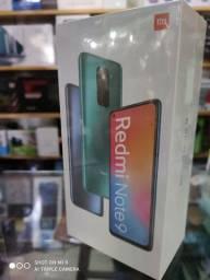 Xiaomi Redmi Note 9 4 RAM 128GB verde com garantia de 1 ano