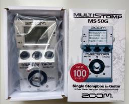 Pedal Zoom Stomp Box MS-50G