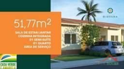 Casas com entrada de 100 reais