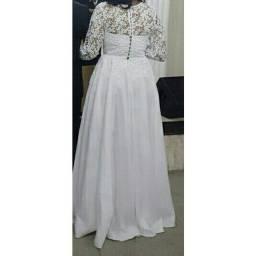 Vestido de noiva completo ,BAIXEI PRA VENDER!!!!