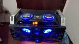 Caixa de som Max Bluetooth Rádio