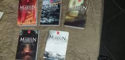 Livros - Game of Thrones, Stephen Hawking, Gears of War, outros