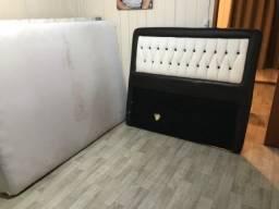 Cama box casal + colchão
