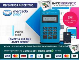 Maquineta, Maquininha, Máquina Mercado Pago Point Mini