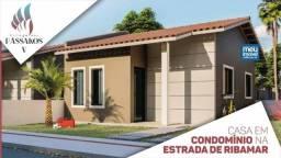 006/Village dos Passaros V, casas com 2 quartos, 49 m²