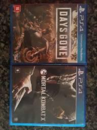 Days Gone e Mortal Kombat X