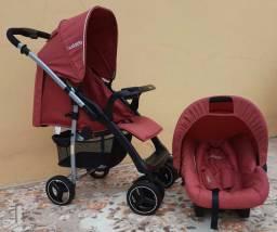 Carrinho + bebê conforto kiddo nest zap