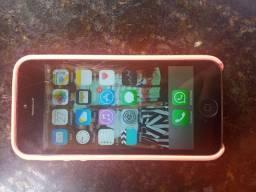 iPhone 5s com trincado