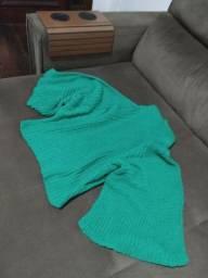 Blusa verde de frio