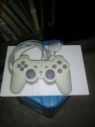 Serie Exclusiva Play2+Controle Original (BRANCOS)