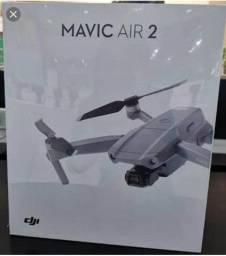 Drone Profissional - DJI Mavic Air 2 standart lacrado top