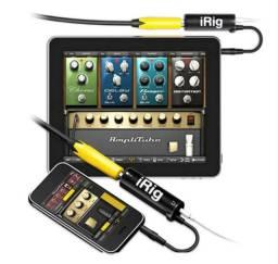 IRig - Interface De Áudio Para iPhone iPad Android Guitarra