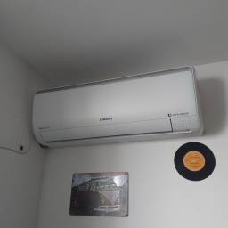 Instalação de Ar condicionado Split.