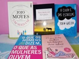 Kit de livros novos e seminovos