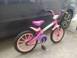 Bike aro 16 de menina